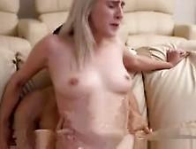 Stephanie's Sexy Young Blond Teen Girl And Petite Black Mon