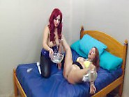 Sookie Blues And Her Tattooed Sub Slut In Piss Play And Dominati