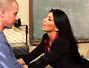 Big-Titted Instructor Romi Rain Having Sex Onto Horny America
