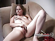 Shy College Pigtail Punk Girl Turns Tv Off To Masturbate Bal