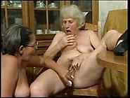 Kinky Granny On Granny Action