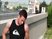 Big Tits Teen Girl In Public Street Orgy With 2 Guys With Big Di