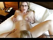 Naughty Daughter And Mother Ride Daddy