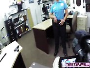 Sexy Sweet Ass Police Woman Gets Naked In The Shop And Fucked Ha