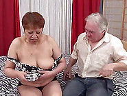 Chubby Mature Bitch Iris Gets Her Hairy Cunt Pounded Deep