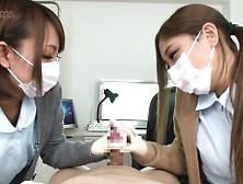 The Nurse Palpates The Uncut Penis