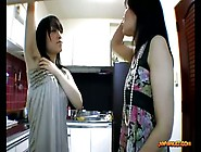 Japanese Milf And Teen Lick Hairy Armpits