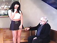 Dude Plays Harsh On Babe's Pussy In Thraldom
