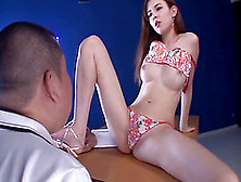 Immaculate Japanese Vixen Being Screwed Hardcore After Giving A