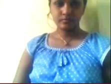 Indian Coworker Supriya Exposing Her Breasts On Webcam