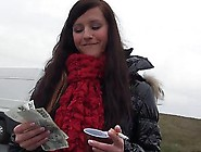 Amateur Eurobabe Picked Up In The Street And Nailed For Cash
