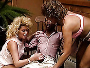 That Old Black Dude Feeds Two Horny Blondes With His Dick