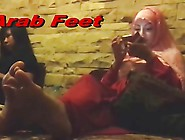 Arabic Feet Spying Milf Voyeur