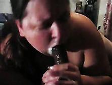 Mature Bbw Slut Sucking Massive Big Black Dick Balls Deep