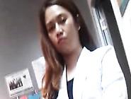Voyeur Dr.  Angelica Evangelista Finesse-Filipino Doctor