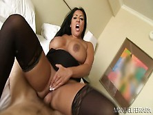 Super Busty And Super Bootyful Chick Kiara Mia Gets Fucked