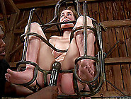 Horny Slut Jessie Ends Up In A Bondage Contraption