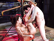 Tommy Pistol Whips Out His Cock To Fuck Bonnie Rotten With Huge