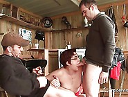 Amateur Squirt Redhead Deep Anal Fucked In Threesome