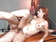 Mature Redhead Teacher Fucks Young Boy In Detention