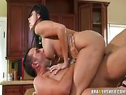 Ava Addams Rides Big Cock
