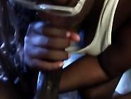Beautiful Black Teen Enjoys A Hefty Piece In Amateur Pov