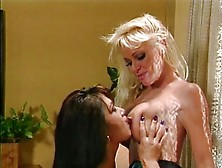 Asia Carrera Gets Her Titties Licked
