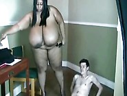 Nasty Foul Mouthed Sbbw 38Mmm Titted Teacher