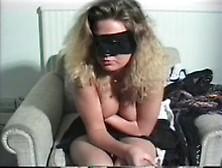 Blindfolded Girl Teased