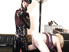 Slapper Has Found Like-Minded Persons Who Love Anal Torturing