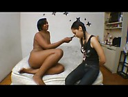 Black Brazilian Mistress Facesitting Her Slave