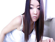 Asian Girl Stripping Naked For The Camera