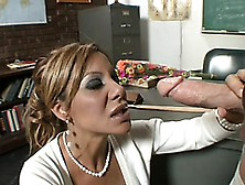 Hot Milf Demi Delia Gives Her Student The Chance To Get Better G