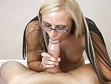 Amateur Teen Girlfriend With Glasses Full Blowjob With Cim