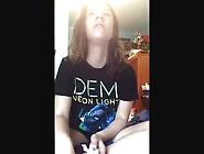 Cute Jailbait Teen Sneezing On Webcam Amateur Cute