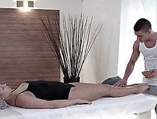 Erotic Massage And Sex With Czech Babe