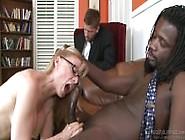 Nina Hartley Loves Black Cock