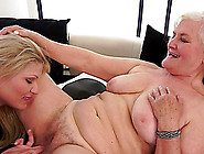 Muff Diving Time With Two Lascivious Blonde Lesbians