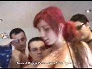 Bukkake With Spanish Redhead