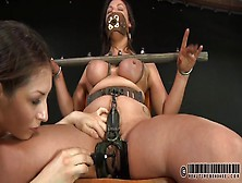Kinky Girl In Sexy Bondage Loves The Pain