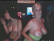 Two Amateur Sluts Sucking Black Dicks! Gloryole!