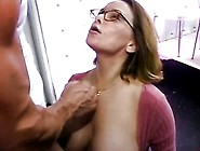 Busty Mature Slut Sucks Cock And Gets Facialized At Celebrity Po