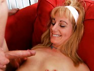Lusty Mama Receives Wild And Sits Down On Dick For A Ride