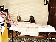 Great Massage Room With Elegant Babes