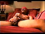 Black Gay Stiff Cock Jerking