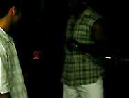 Skinny White Gay Gangbang By Three Huge Black Ghetto