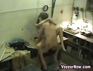 Couple Caught Fucking At Work