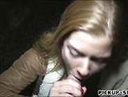 Amateur Blond Eurobabe Chrissy Fox Banged In Public For Cash
