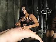 Hardcore Tits Torture And Arse Spanking For Ballgagged Slut
