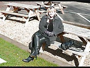 Granny Jasmine Scottish Slut Thigh Boots Blowjob Carpark